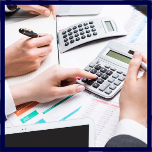 accounts payable staffing firm calculator hands