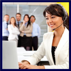 call center manager staffing headset