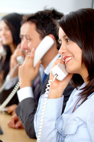 call center staffing people phone