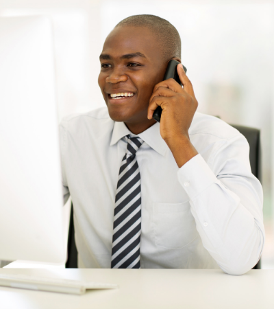 recruiter calling to make sure temp is ready