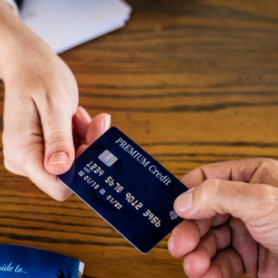 credit and collections card